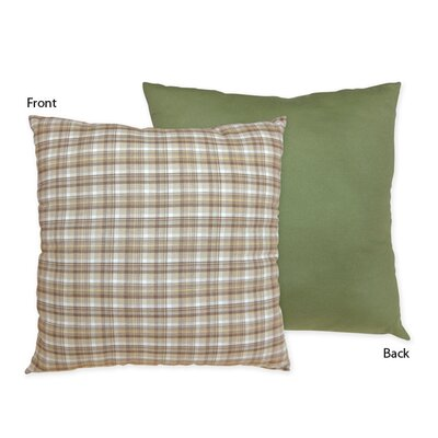 Construction Zone Cotton Throw Pillow by Sweet Jojo Designs