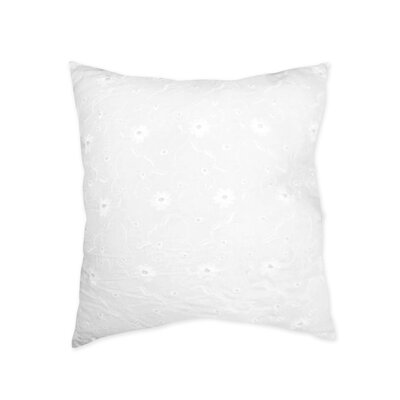 Sweet Jojo Designs Eyelet Cotton Throw Pillow