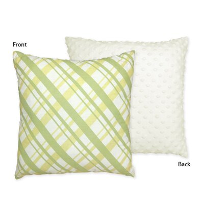 Sweet Jojo Designs Leap Frog Cotton Throw Pillow