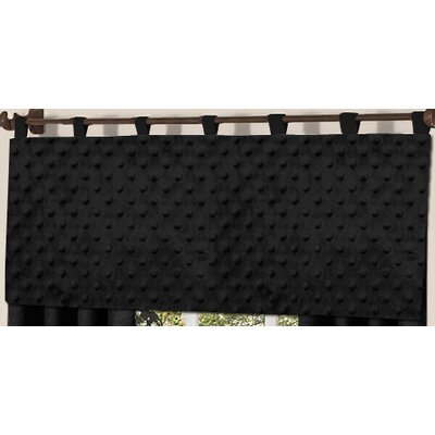 "Minky Dot 54"" Curtain Valance Product Photo"