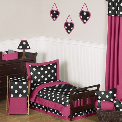 Hot Dot Toddler Bedding Collection by Sweet Jojo Designs