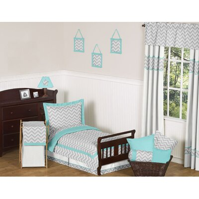 Zig Zag Toddler Bedding Collection by Sweet Jojo Designs