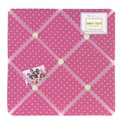 Sweet Jojo Designs Jungle Friends Polka Dot Memo Board