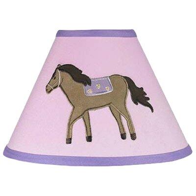 "Sweet Jojo Designs 10"" Pony Cotton Empire Lamp Shade"