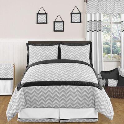 Zig Zag 3 Piece Full/Queen Bedding Set by Sweet Jojo Designs