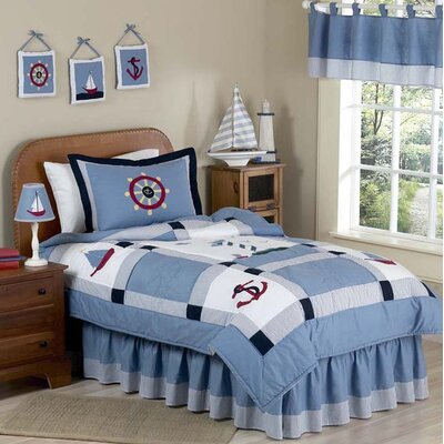 Come Sail Away Kid Bedding Collection by Sweet Jojo Designs
