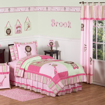 Jungle Friends Kid Bedding Collection by Sweet Jojo Designs