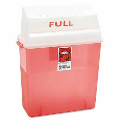 Medline 3-Gal Patient Room Sharps Container