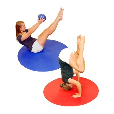 Ultra 4' Circular Aerobics Mat by Yoga Direct