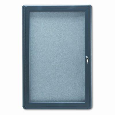 Quartet® Enclosed Bulletin Board, 3' x 2'