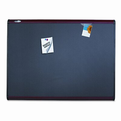 Quartet® Prestige Magnetic Bulletin Board, 4' x 6'
