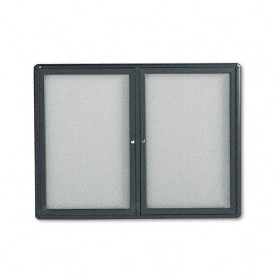 Quartet® Radius Frame Fabric Wall Mounted Bulletin Board