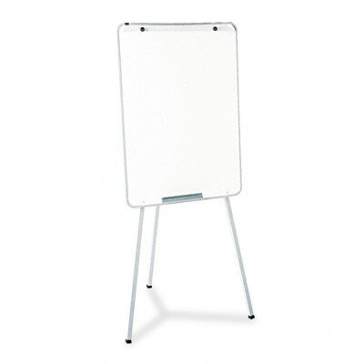 Quartet® Oval Office Presentation Free-Standing Reversible Whiteboard, 3' x 3'