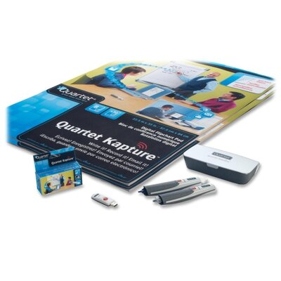 Quartet® Digital Flipchart Office Kit, 2 Digital Pens, 60 Sheet Pad