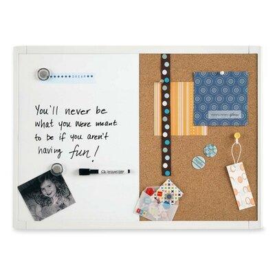 "Quartet® Magnetic/Dry-Erase Board, 11""x17"", White"