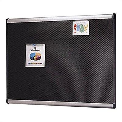 Quartet® Prestige Embossed Wall Mounted Bulletin Board, 2' x 3'