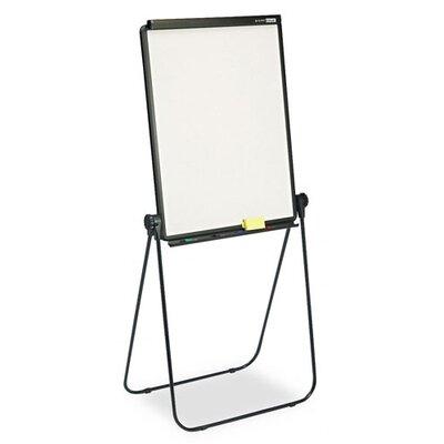 Quartet® Total Erase Presentation Dry-Erase Easel in White with Black Steel Frame