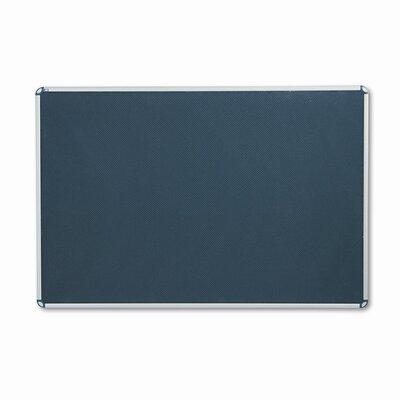 Quartet® Euro-Style Wall Mounted Bulletin Board, 4' x 6'