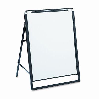 Quartet® Futura Presentation Free-Standing Whiteboard, 3' x 2'