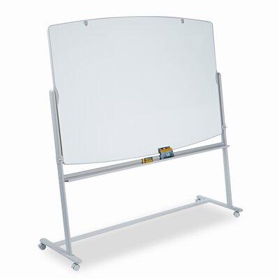 Quartet® Presentation Easel Reversible Mobile Whiteboard, 6' x 4'