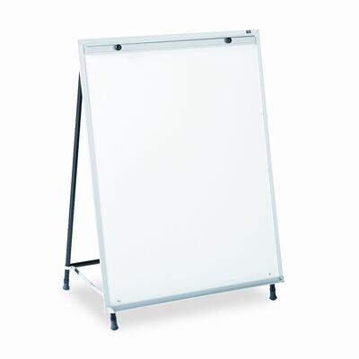 Quartet® Dry-Erase Steel Easel Whiteboard, 3' x 2'