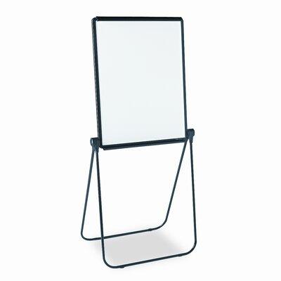 Quartet® Ultima Presentation Dry Erase Easel, Melamine, 27 x 34, White, Black Frame