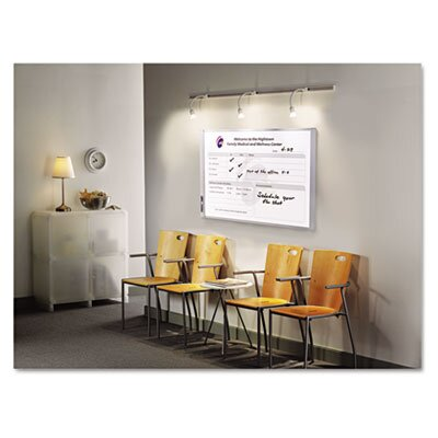 Quartet® Inview Calendars Wall Mounted Bulletin Board, 3' x 4'