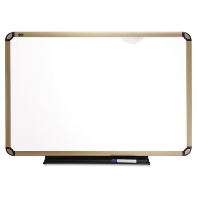 Quartet® Euro Frame Dry-Erase Magnetic Wall Mounted Whiteboard