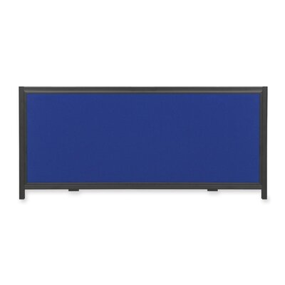 Quartet® Display System Optional Header Panel Wall Mounted Bulletin Board, 1' x 2'