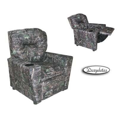 Conceal Kids Cup Holder Recliner by Dozy Dotes