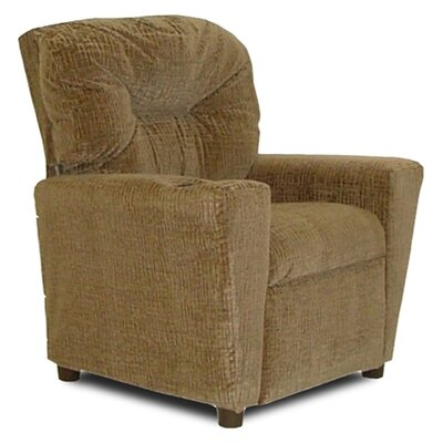 Cup Holder Hot Chocolate Fabric Kid's' Recliner by Dozy Dotes