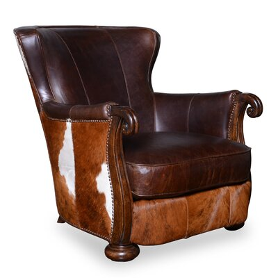 Kennedy Hide Lounge Chair by A.R.T.