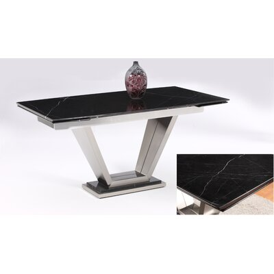 Chintaly Imports Jessy Extendable Dining Table