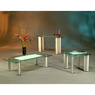 Chintaly Imports Tracy Coffee Table Set