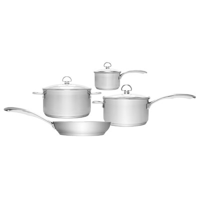 Induction 21 Steel™ 7-Piece Cookware Set by Chantal
