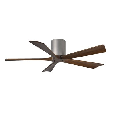 "52"" Irene 5 Blade Ceiling Fan with Hand Held and Wall Remote Product Photo"