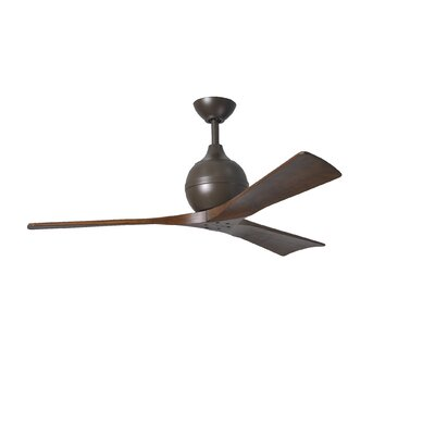 "52"" Irene 3 Blade Ceiling Fan with Wall Remote Product Photo"