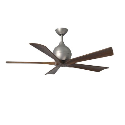 "52"" Irene 5 Blade Ceiling Fan with Wall Remote Product Photo"