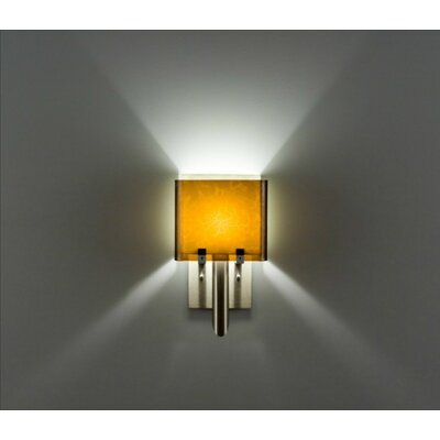 WPT Design Dessy1/6 1 Light Double Pane Wall Sconce