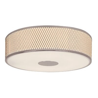 Diamond Grill 4 Light Semi-Flush Mount Product Photo