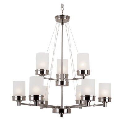 Urban Swag 9 Light Chandelier Product Photo