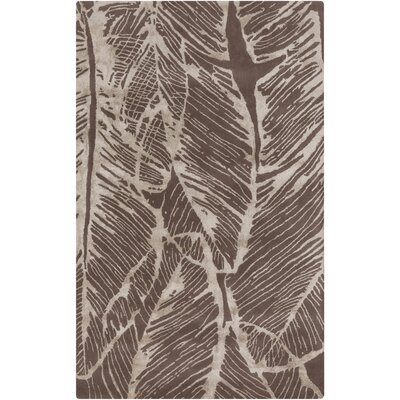 Modern Classics Beige/Taupe Floral Rug by Candice Olson