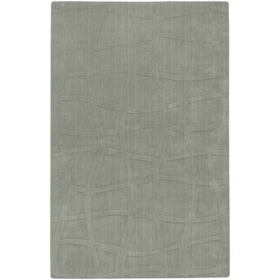 Candice Olson Rugs Sculpture Silver Sage Checked Rug
