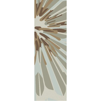 Candice Olson Rugs Modern Classics Antique White/Brown Area Rug