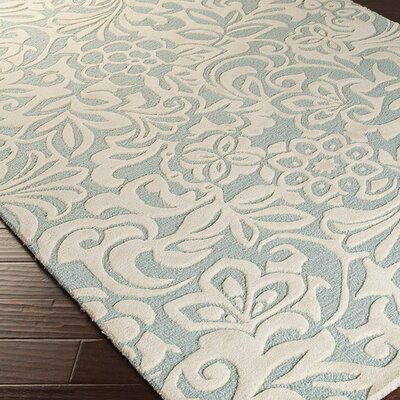 Candice olson modern classics blue haze bone area rug for Candice olson area rugs