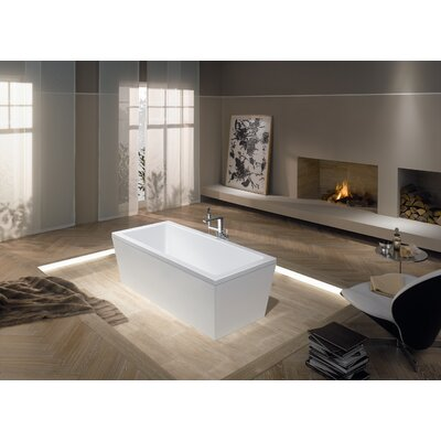 "Conoduo 79"" x 39"" Soaking Bathtub Product Photo"