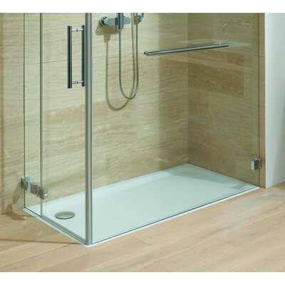 "Superplan XXL 35.4"" x 59"" Shower Tray in White Product Photo"