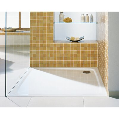 "Superplan 39.4"" x 39.4"" Shower Tray in White Product Photo"