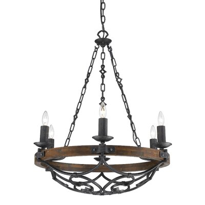 Maddie 6 Light Chandelier by Golden Lighting