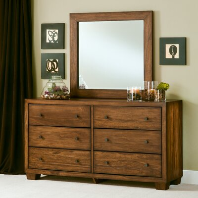angelo:HOME Chelsea Park 6 Drawer Dresser with Mirror